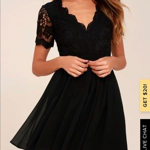 Lulu's Angel in Disguise Skater Dress